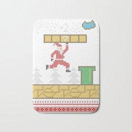 Mario Santa Claus Bath Mat