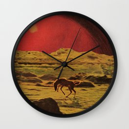 heart is home Wall Clock