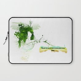 Women with design Laptop Sleeve