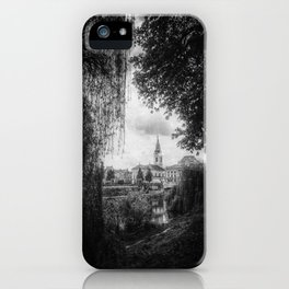| journey in space-time - a sanctuary for the spirit, chapter I | iPhone Case