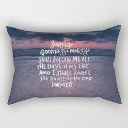 Goodness & Mercy Rectangular Pillow