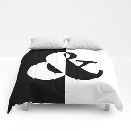Black & White Comforters