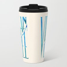 Vegan Life Metal Travel Mug
