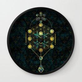 Decorative Sacred Geometry symbol Wall Clock