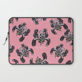 T.F TRAN PINK BUTTERFLY IRIS PINK EDITION Laptop Sleeve