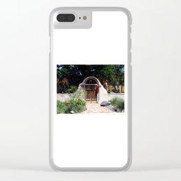 Las Entrada Clear iPhone Case