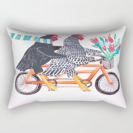 Bertha and Ebenezer Rectangular Pillow