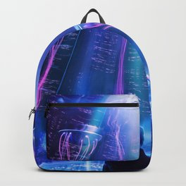 Ready Player One inspired | Painting Poster | CLUB SCENE | PRINTS | #M47 Backpack