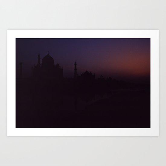 Taj After Dark Art Print
