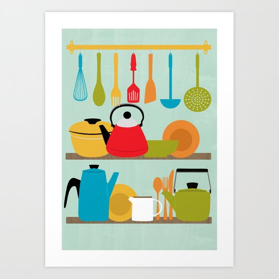My Kitchen Art Print