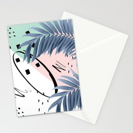 Summer Palms Cali Vibes Abstract Glam #1 #tropical #decor #art #society6 Stationery Cards