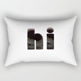 hi coffee Rectangular Pillow
