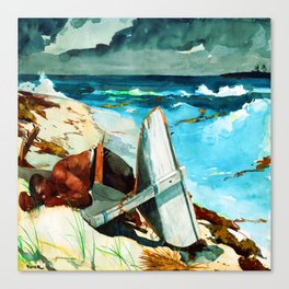 Winslow Homer After the Hurricane Canvas Print