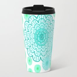 seafoam & blueeeey Travel Mug