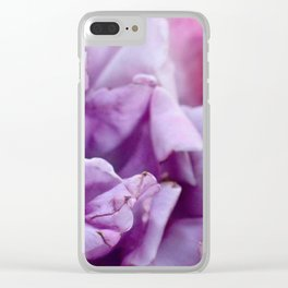 The Happiness of Roses Clear iPhone Case