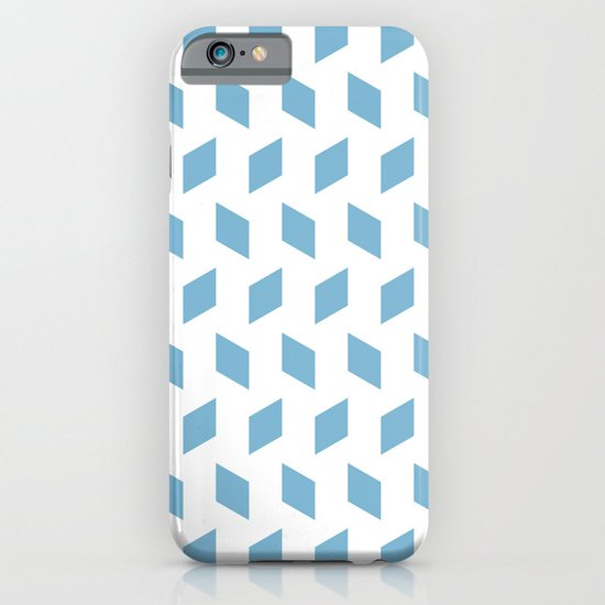 rhombus bomb in dusk blue iPhone & iPod Case