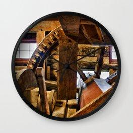 Inside the Mill Wall Clock