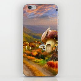 Hidden Village iPhone Skin