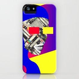 Space Portrait iPhone Case