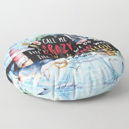 Lila Bard Floor Pillow