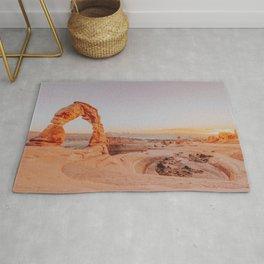 desert sunset iv / arches national park, utah Rug