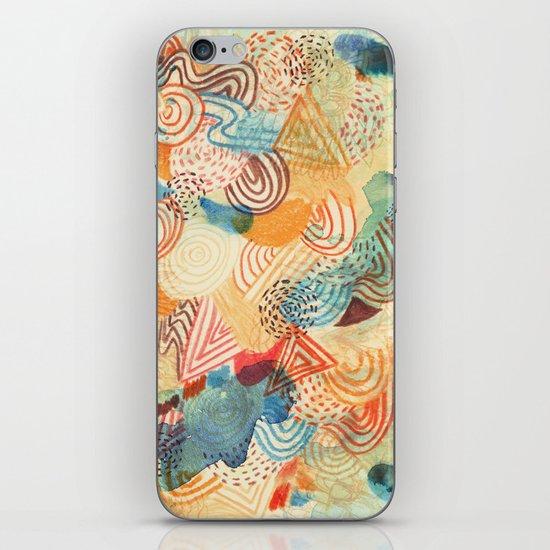 I dream in colors iPhone & iPod Skin