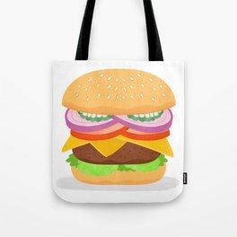 Cheeseburger Tote Bag