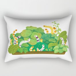 Garden eel Rectangular Pillow