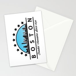 Boston Freaking Awesome Since 1630 Stationery Cards