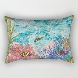 Jellyfish on the Rise Rectangular Pillow