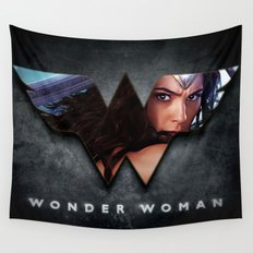 Wonder . Woman Wall Tapestry
