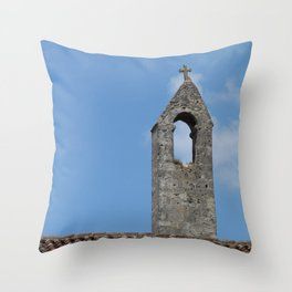Saint Emilion rooftop Throw Pillow