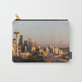 Seattle, Washington Skyline Carry-All Pouch