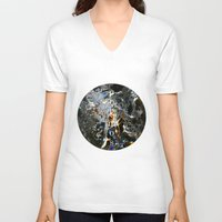 cosmos V-neck T-shirts featuring Cosmos by digital_flowers