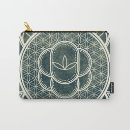 Ultra Sacred Geometry Dark Carry-All Pouch