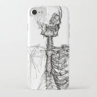 anatomy iPhone & iPod Cases featuring Anatomy  by BunnyBrush