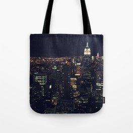 Nightlights Tote Bag