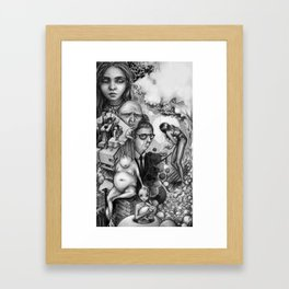 The dreamscapes Framed Art Print