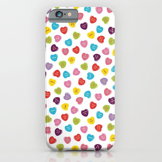 Candy Hearts iPhone & iPod Case