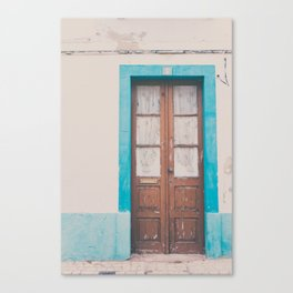 That door of yours Canvas Print