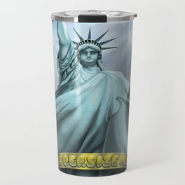 Statue of Liberty Supersize Me Travel Mug