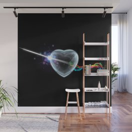 The Dark Side of the Heart Wall Mural