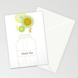Mason Jar Thank You Cards Stationery Cards