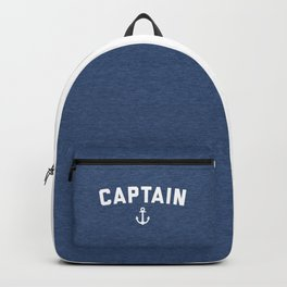 Captain Nautical Quote Backpack