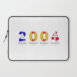 2004 - NAVY - My Year of Birth Laptop Sleeve