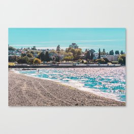 I see an island. Canvas Print