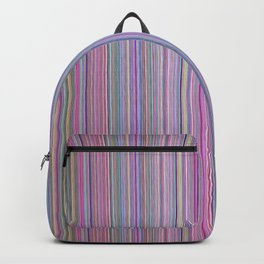 Broken TV Screen Test Pattern Backpack