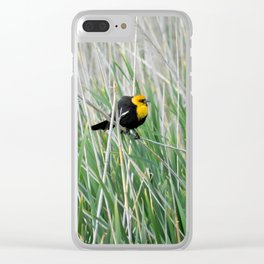 Ruffled Feathers Clear iPhone Case