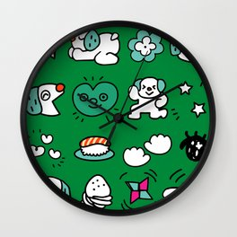 A dog's fun life! Shih Tzu Wall Clock