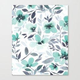 Espirit Mint  Canvas Print